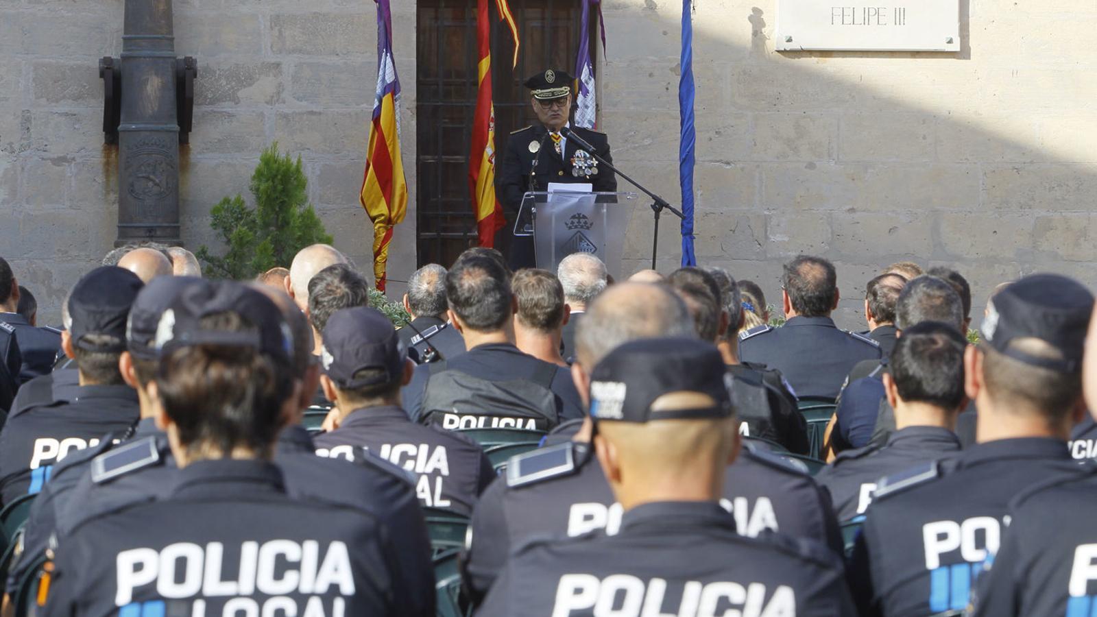 Només un 10% de la plantilla de la Policia Local són dones a Palma.