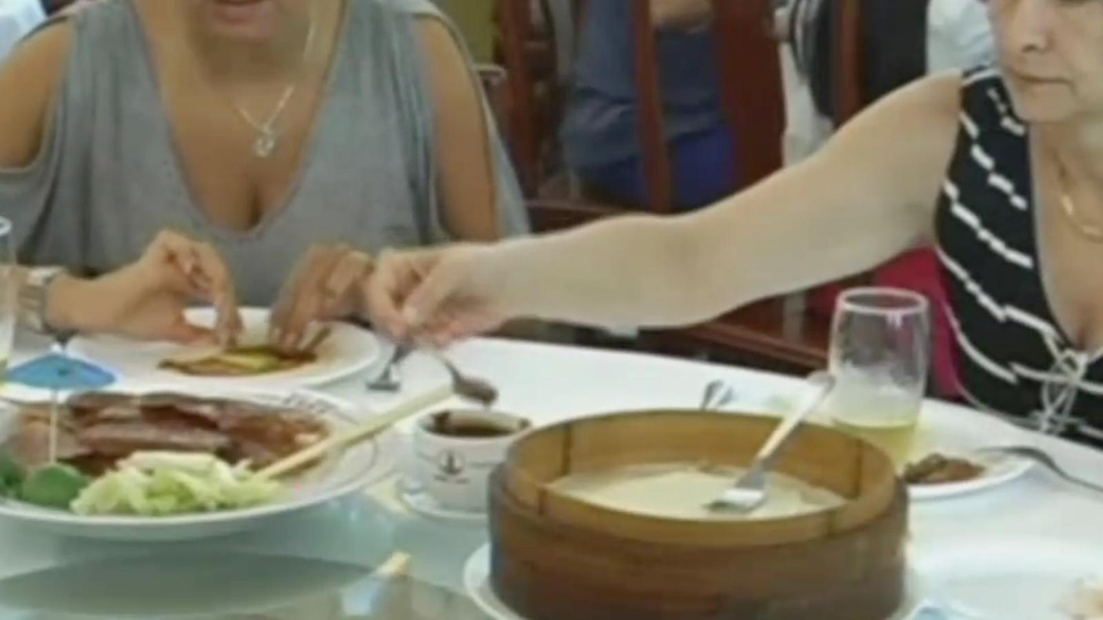 El menjar xinès, considerat sibarita al Brasil