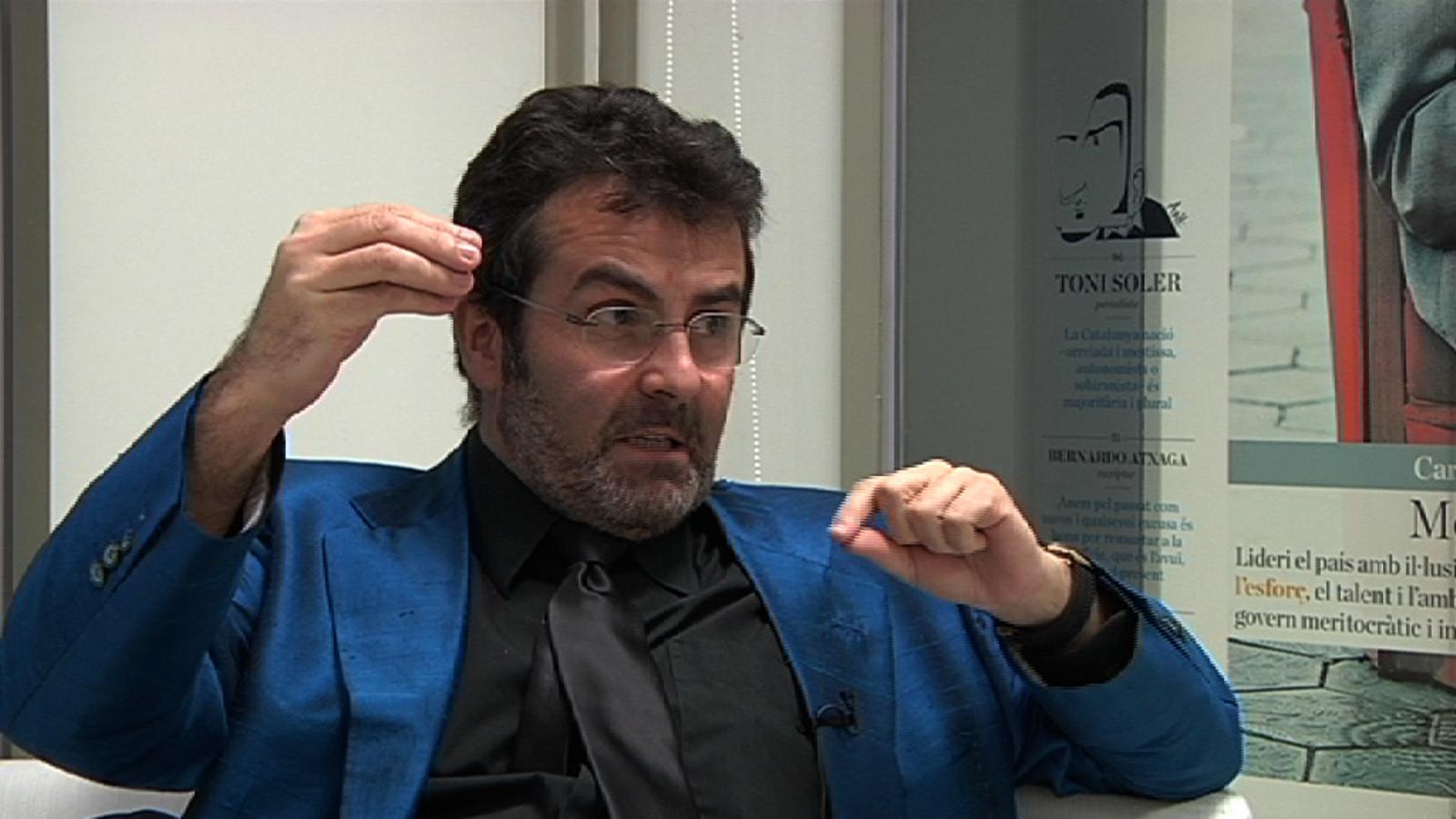 Sala i Martín, sobre la gestió de Rajoy: Primer foten una hòstia als rics i un cop demostren que no els afavoreixen, foten l'hòstia grossa