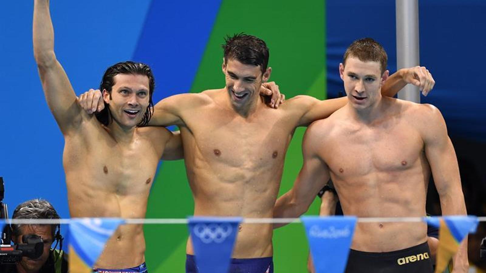 Michael Phelps i la llegenda de l'home amb 23 medalles d'or