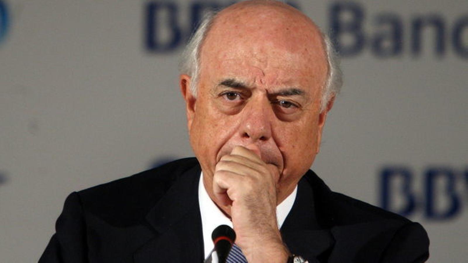 Francisco González, president del BBVA.