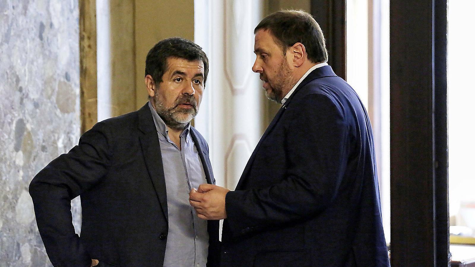 Els presos tornen al Parlament