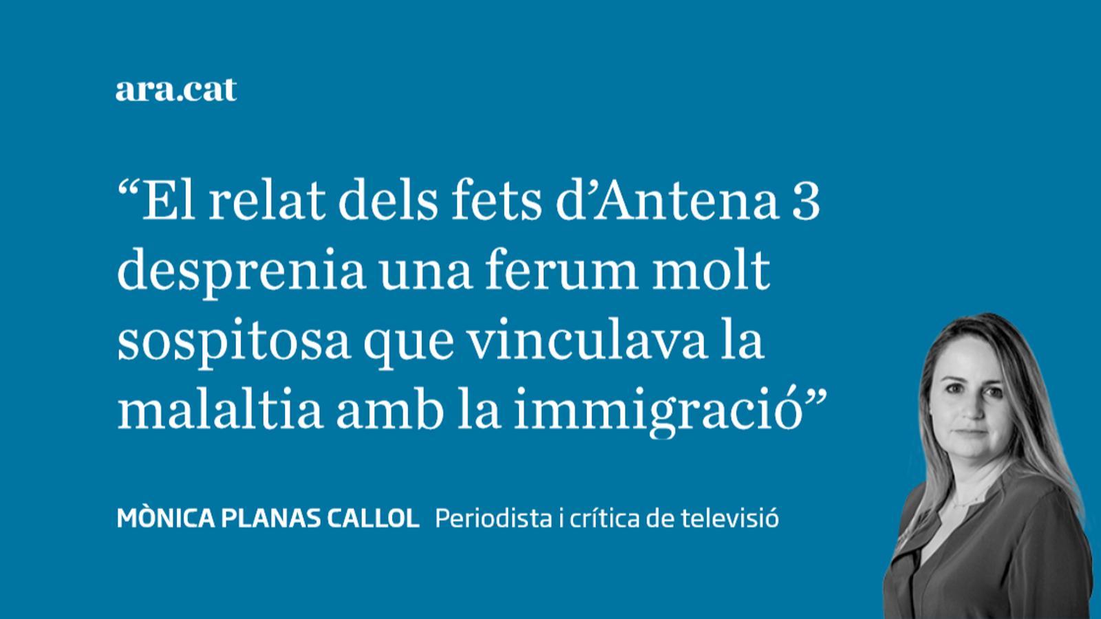 La ferum d''Antena 3 Noticias'