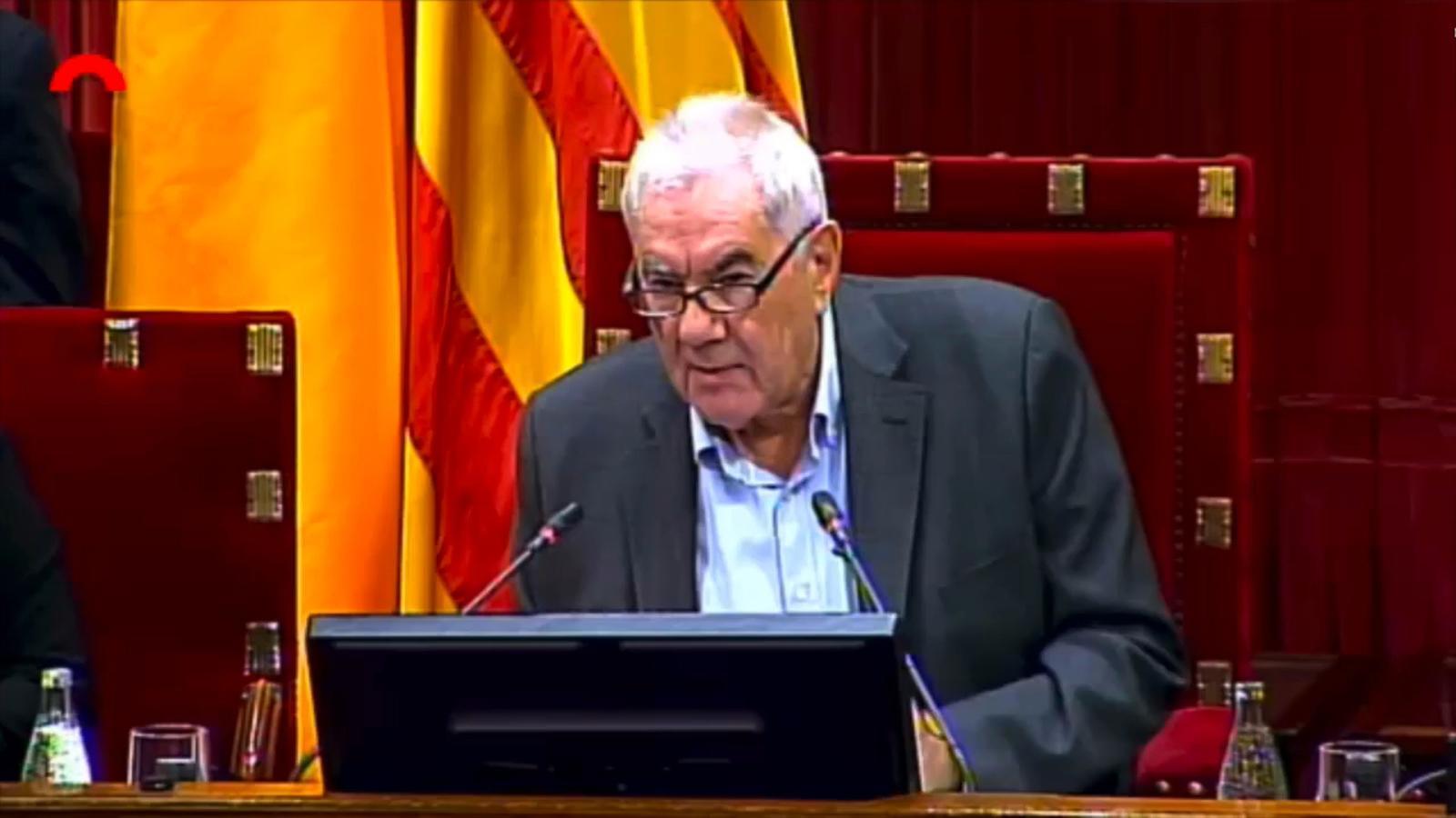 """Ernest Maragall: """"L'1 d'octubre serà recordat com el dia que la ciutadania es va fer mestre del seu destí"""""""