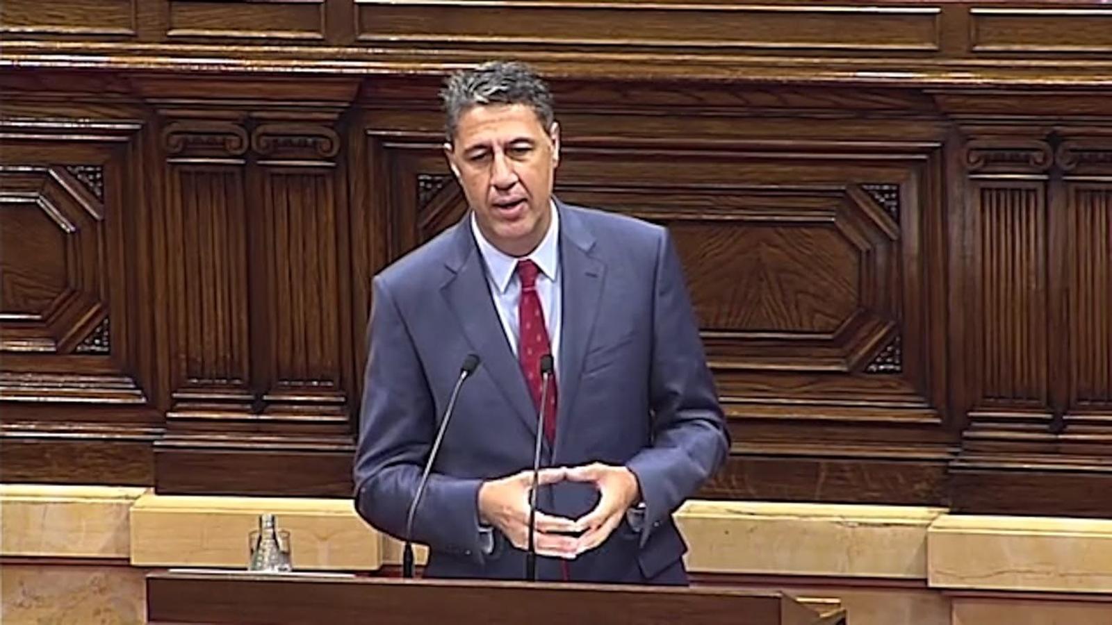 "Albiol amenaça Puigdemont: ""Ni vostè ni ningú convocarà un referèndum il·legal a Catalunya"""