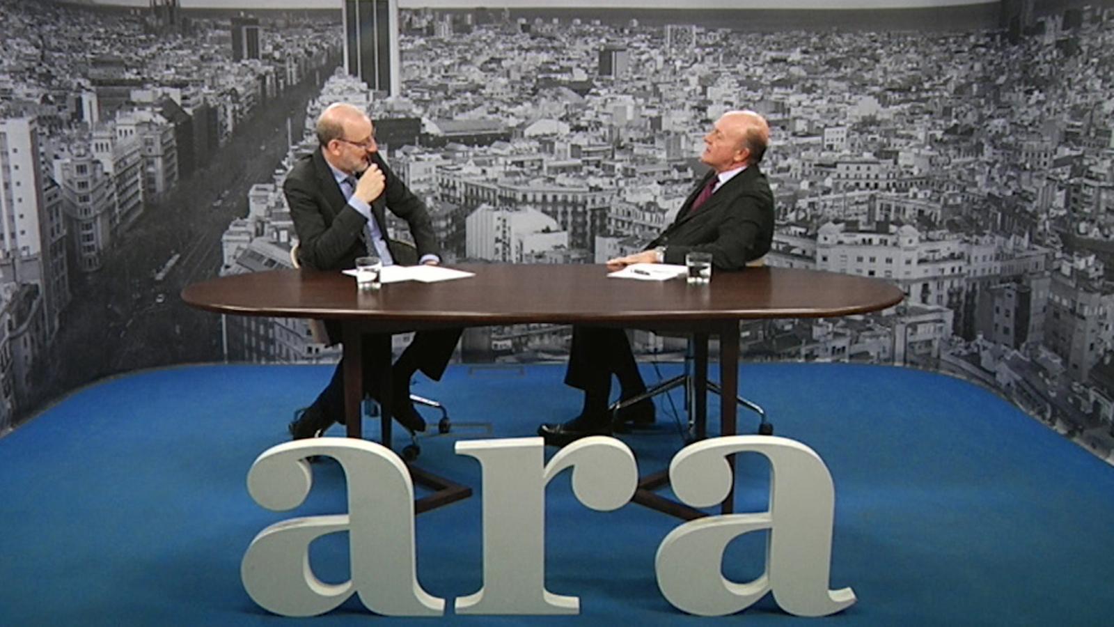 Entrevista d'Antoni Bassas a Enric Lacalle