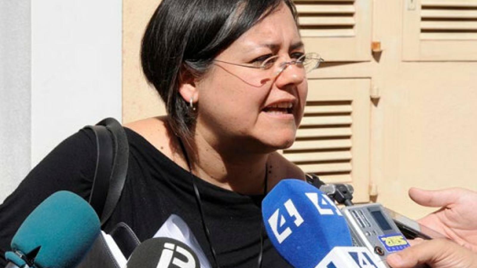 Cristina Gómez és la impulsura d'aquesta iniciativa que ha rebut el suport de l'equip de govern.