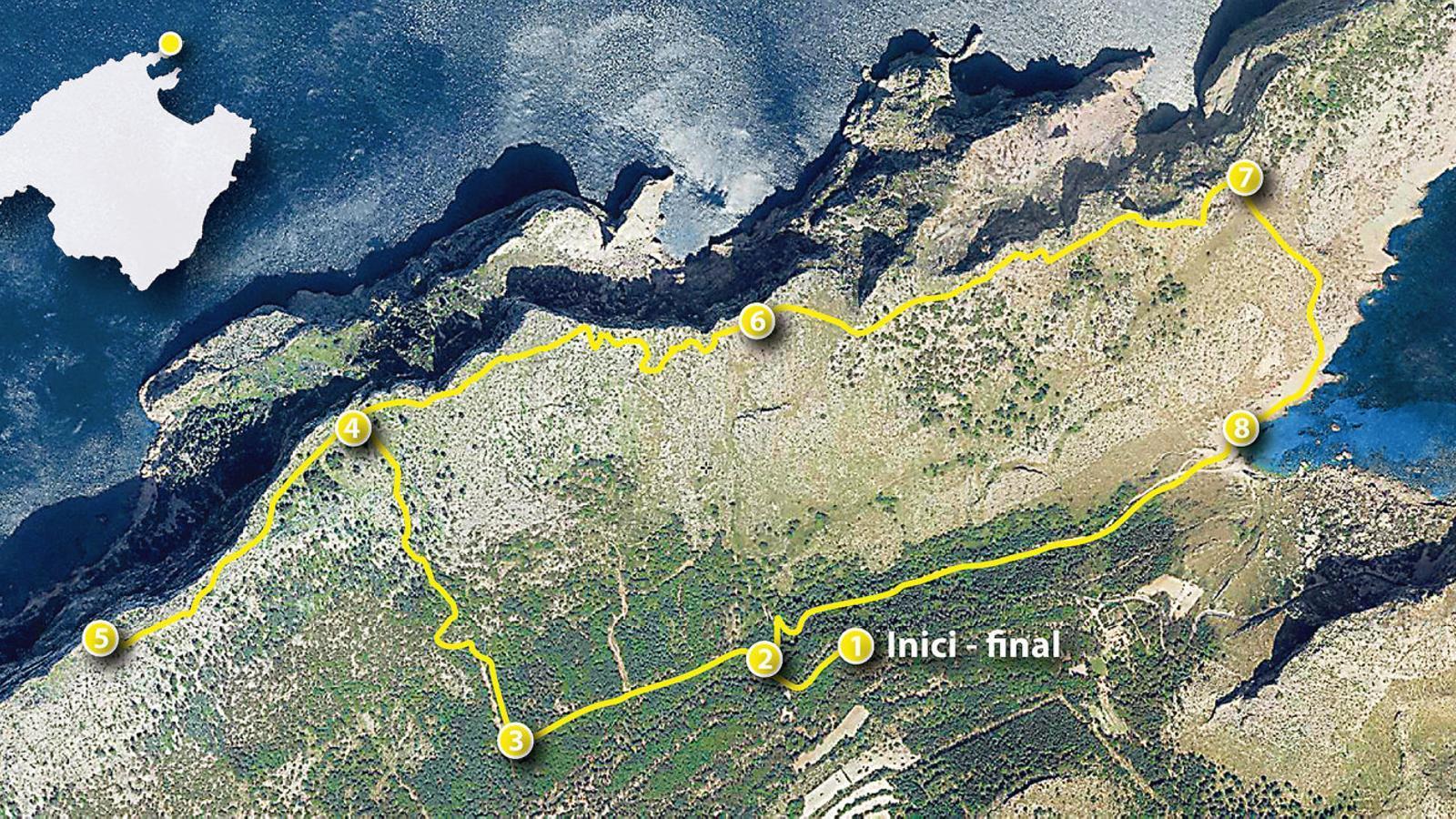 La ruta del Pal I el pi de Formentor