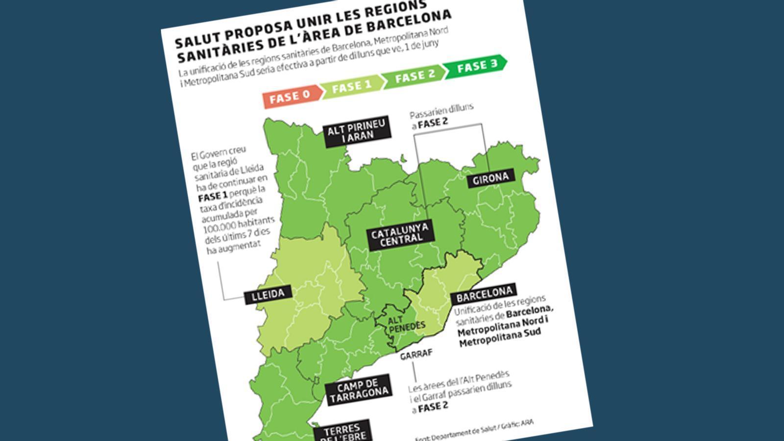 El Govern proposa unificar les regions sanitàries de Barcelona i Marlaska es va sentir traït per Pérez de los Cobos: les claus del dia, amb Antoni Bassas (26/05/2020)