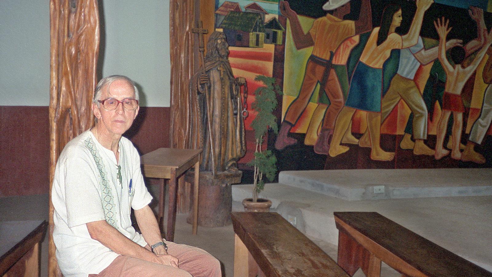 """El bisbe Pere Casaldàliga és un dels màxims exponents de la """"Teologia de l'Alliberament"""""""