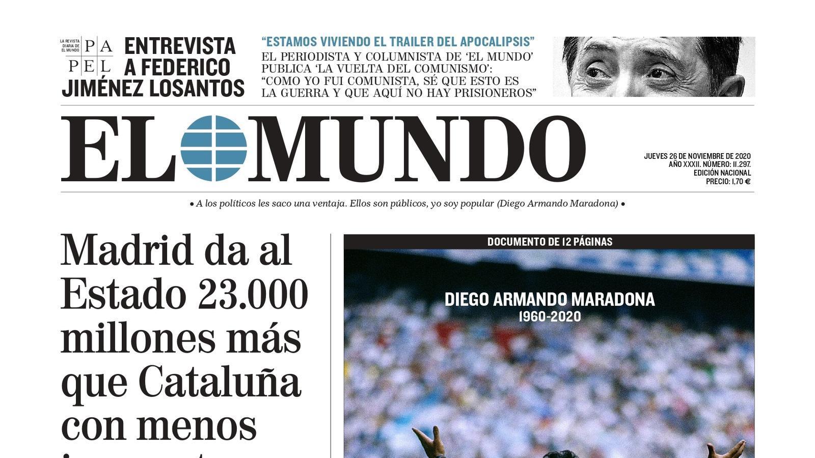 26/11 El Mundo