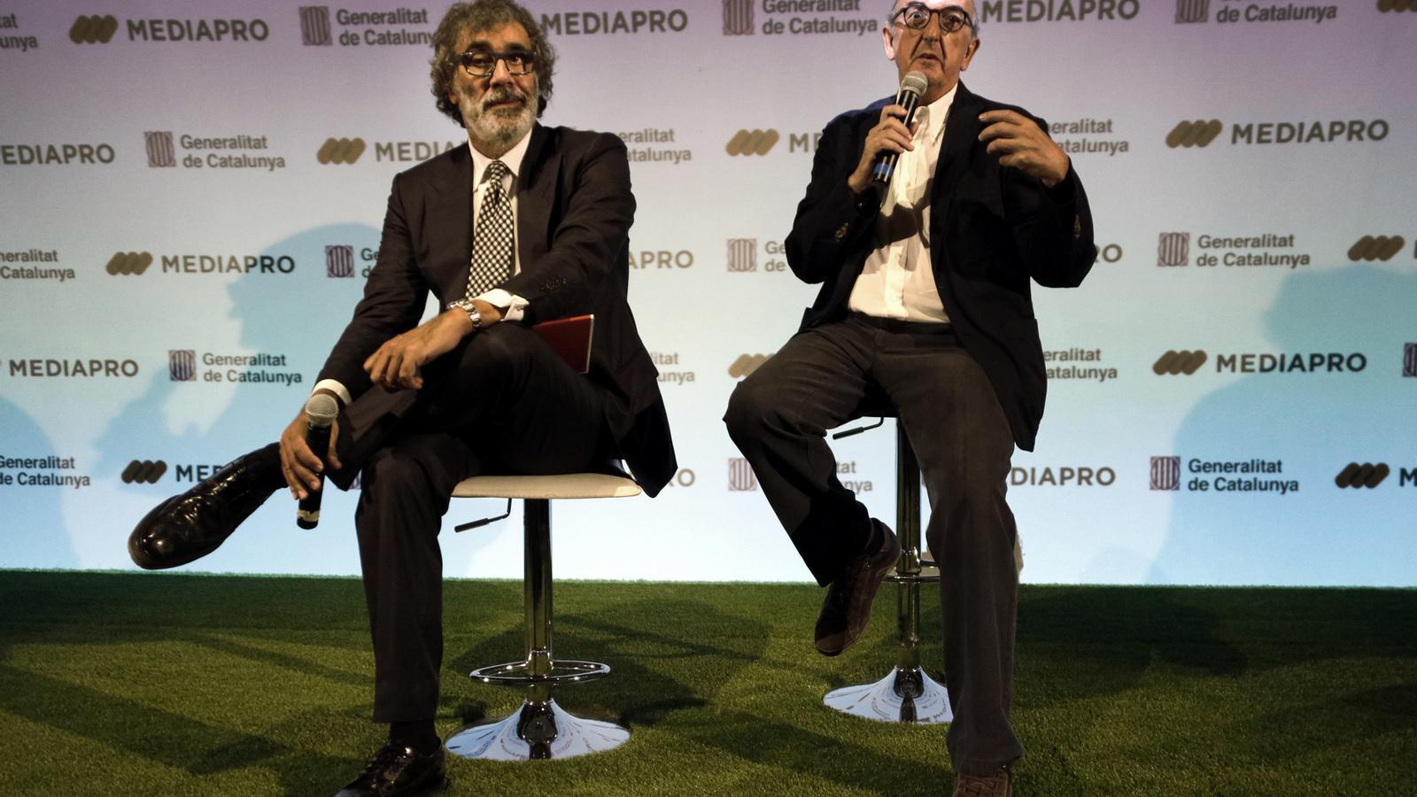 Jaume Roures i Tatxo Benet guanyen el premi Muriel Casals de comunicació