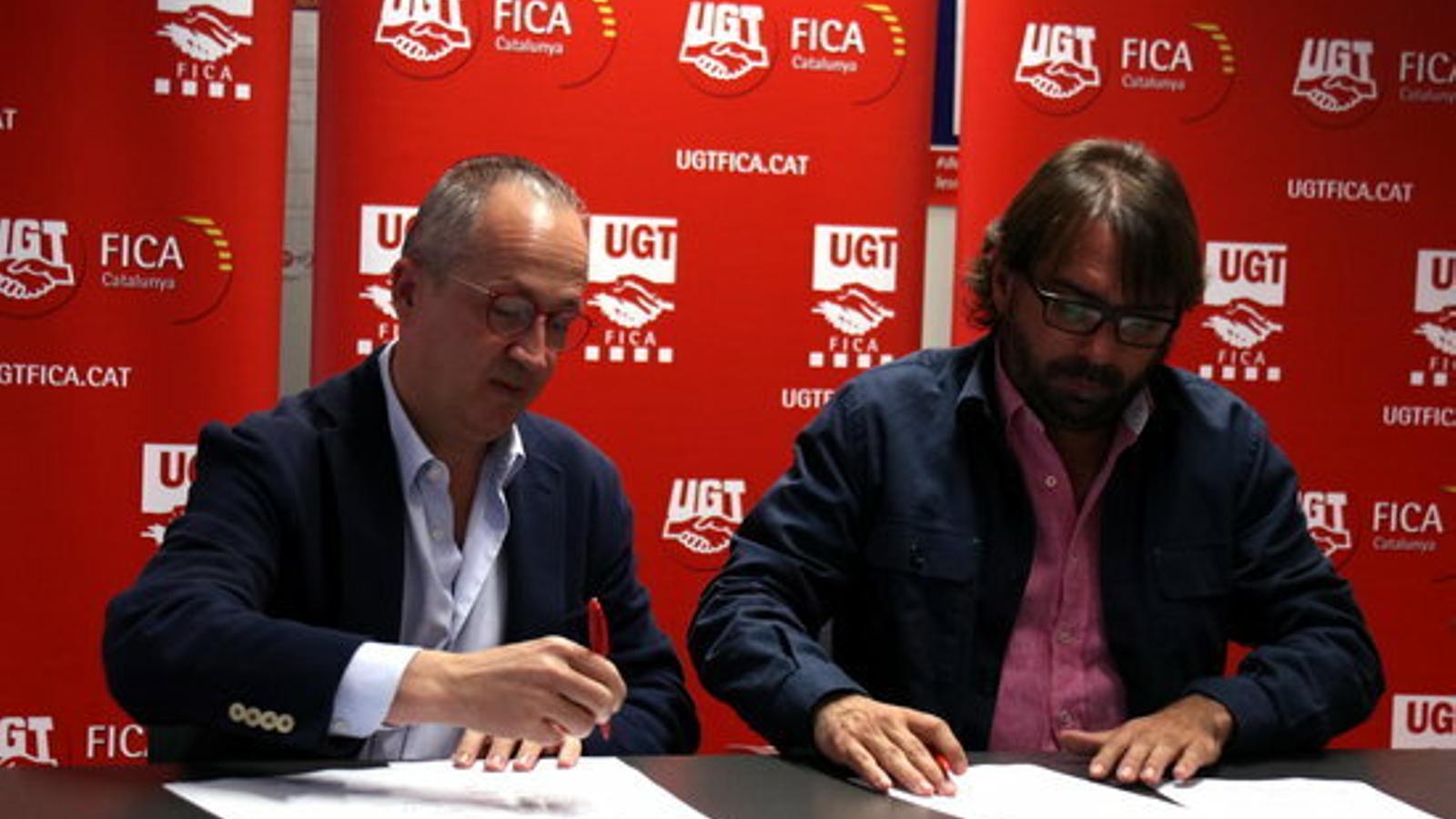 El Grupo Jorge pacta amb la UGT regularitzar 1.600 treballadors de subcontractes