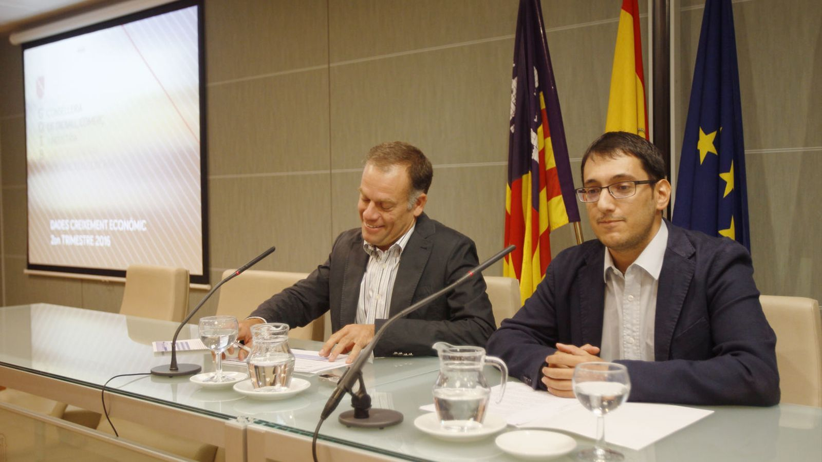 Negueruela i Pou, en una imatge d'arxiu.