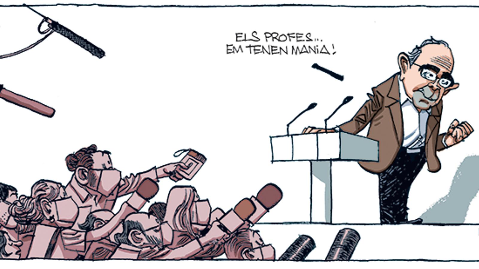 'A la contra', per Fontdevila 26/08/2020