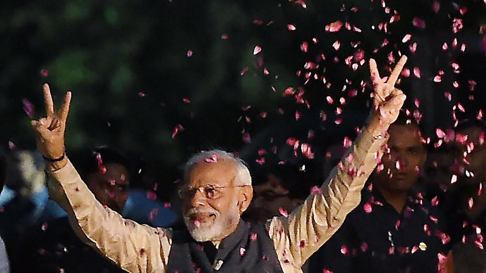 Victòria històrica de Narendra Modi, el líder més divisiu de l'Índia