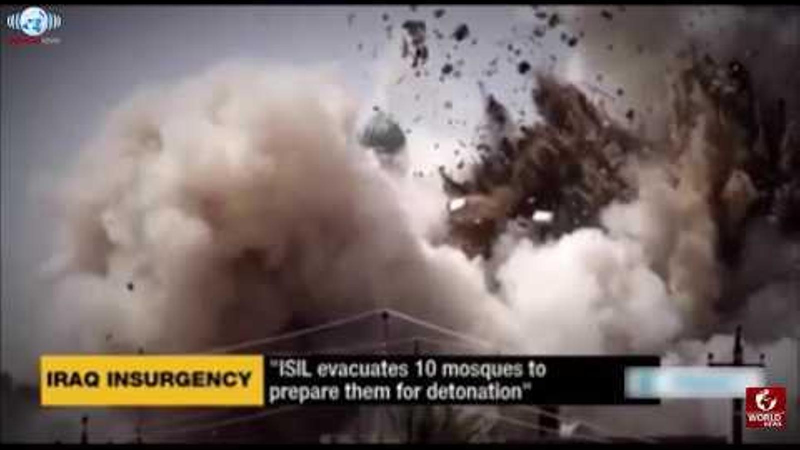 L'Estat Islàmic fa explotar la mesquita de Mossul