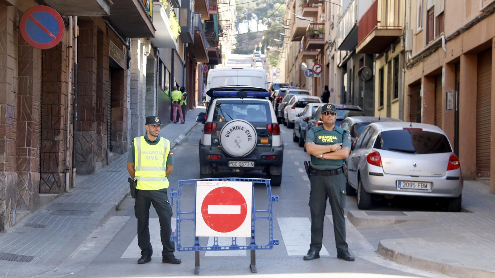 La Guàrdia Civil deté dos homes en una operació antijihadista a Mataró