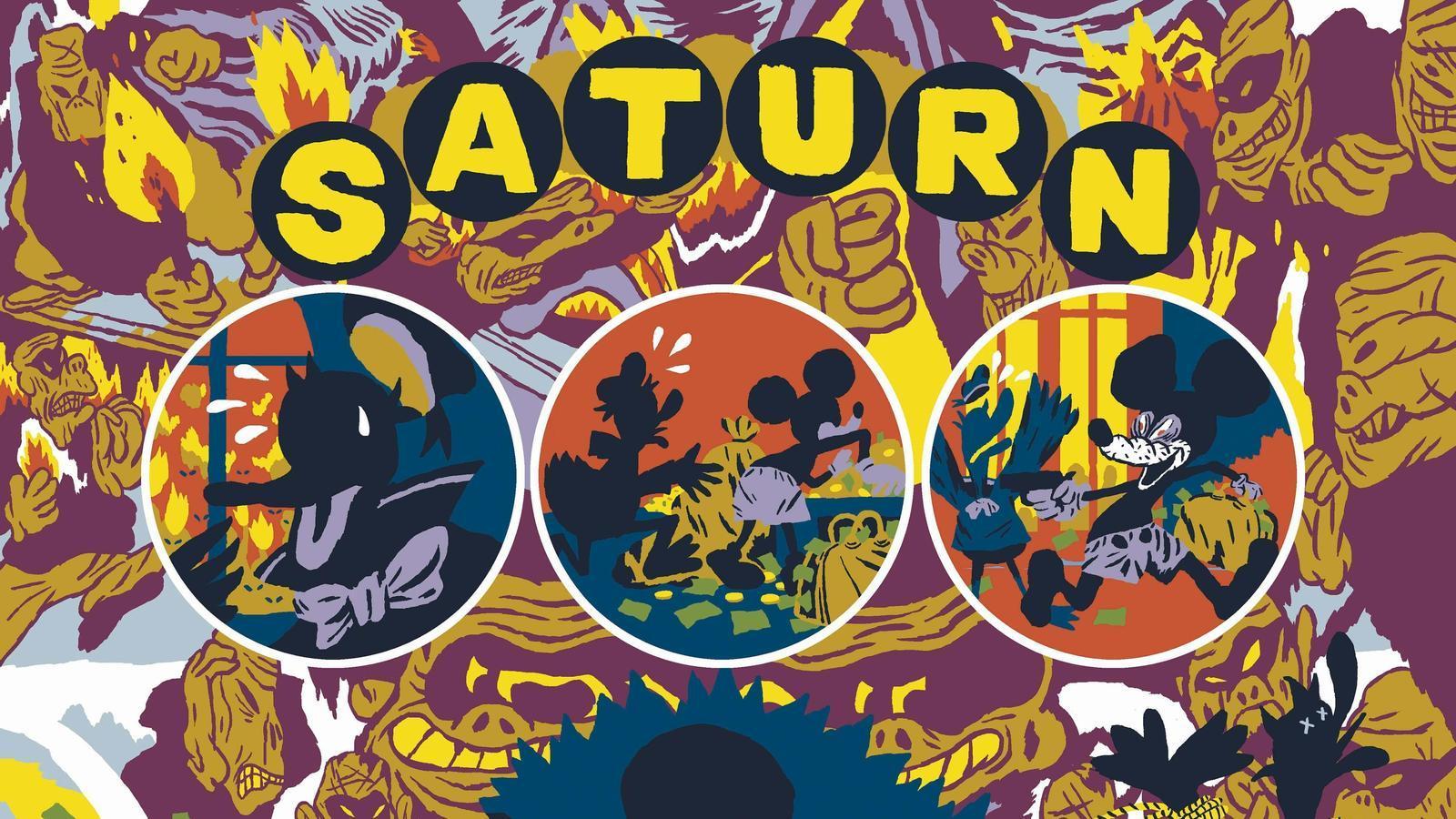 Gràfica Radiant (54): 'Saturn Retrògrad'