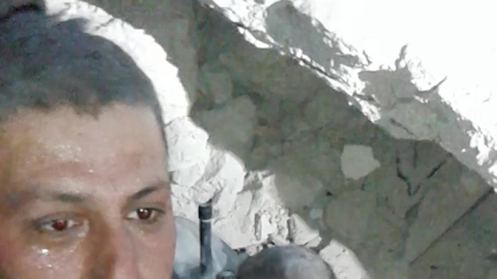 Rescat del bebè miracle a Alep, el 2014. DEFENSA CIVIL SIRIANA