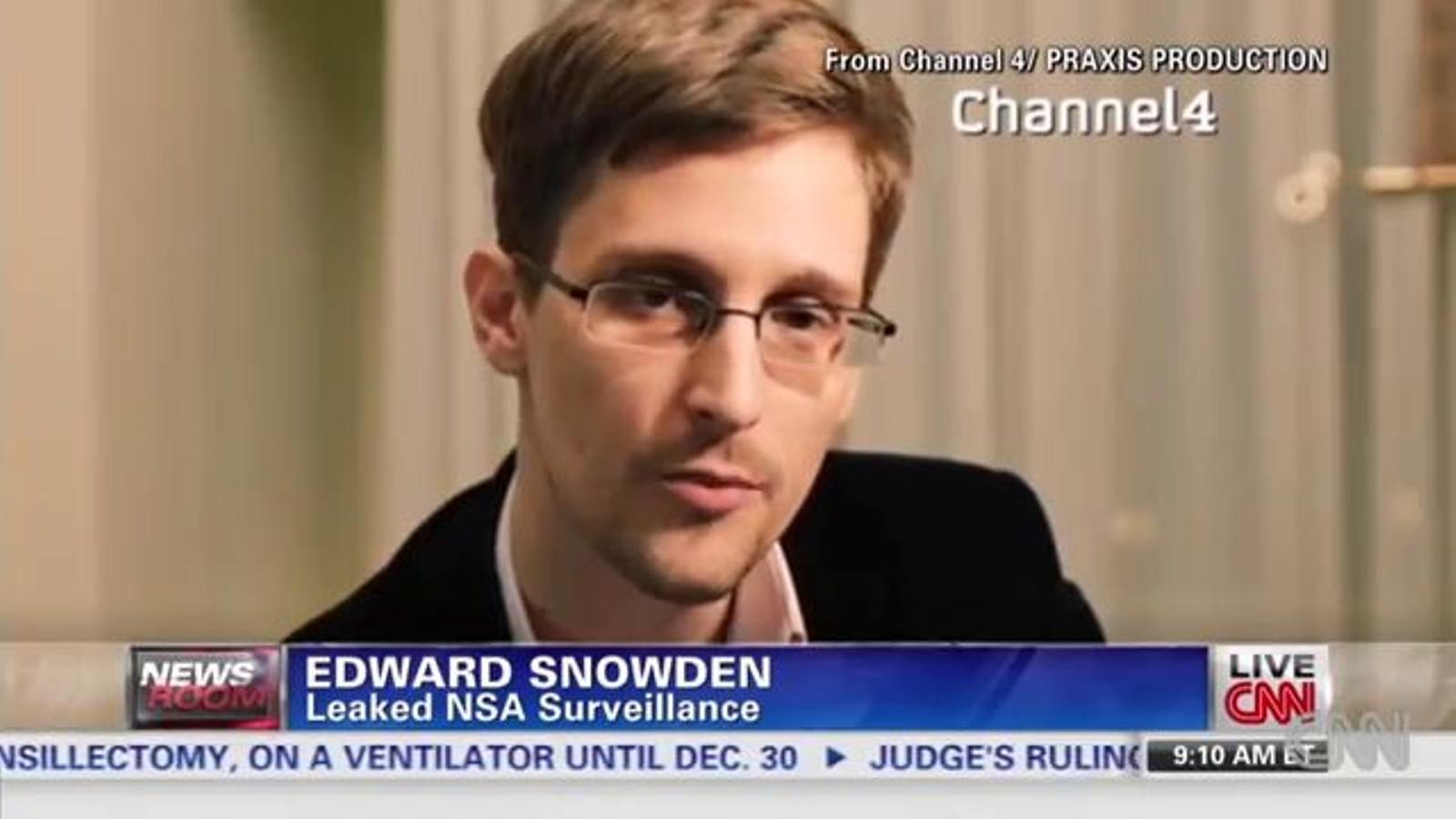 Snowden també s'apunta al missatge de Nadal