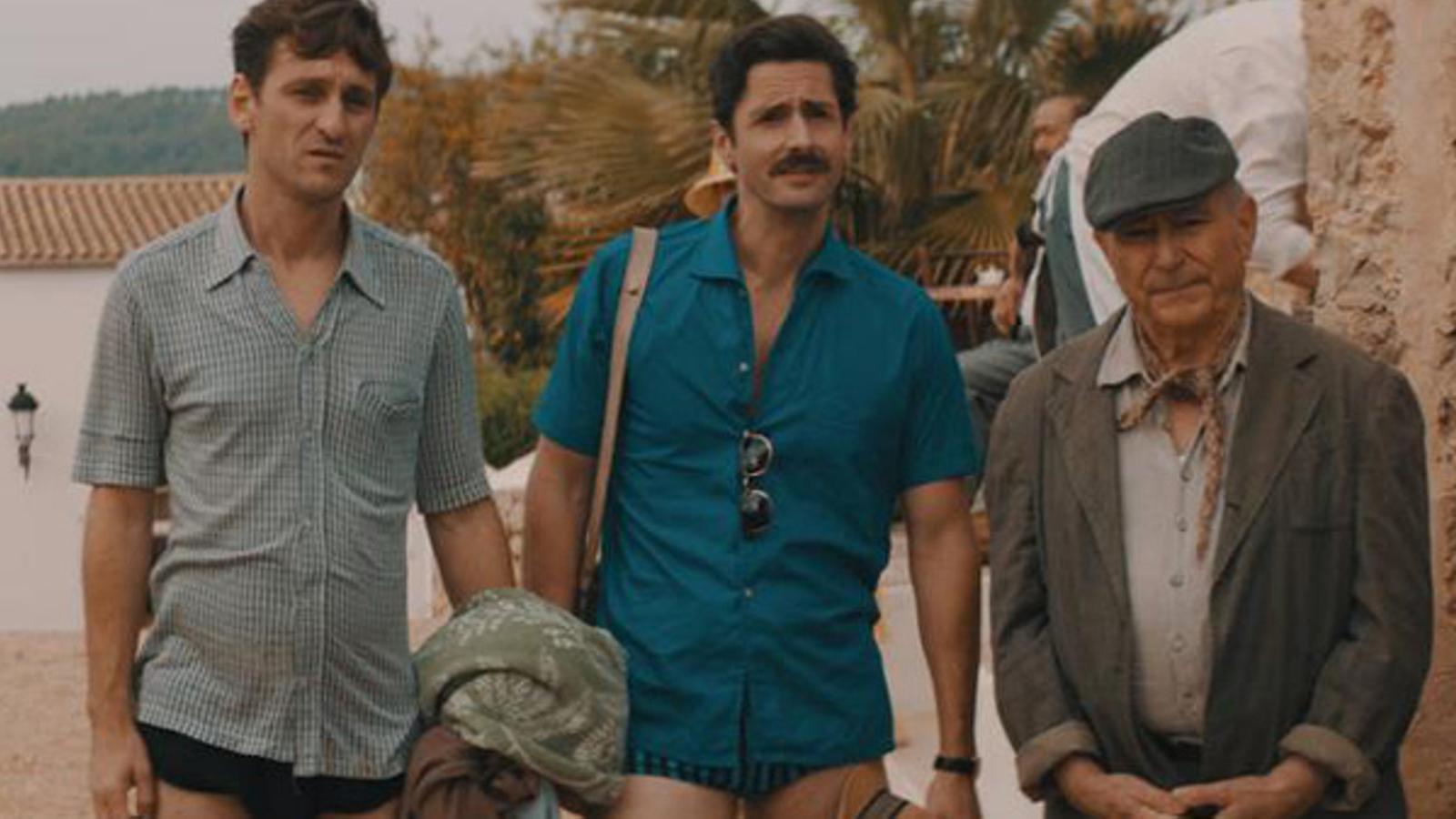 La pel·lícula 'Los europeos', rodada a Eivissa i coproduïda per IB3, opta a tres premis Goya