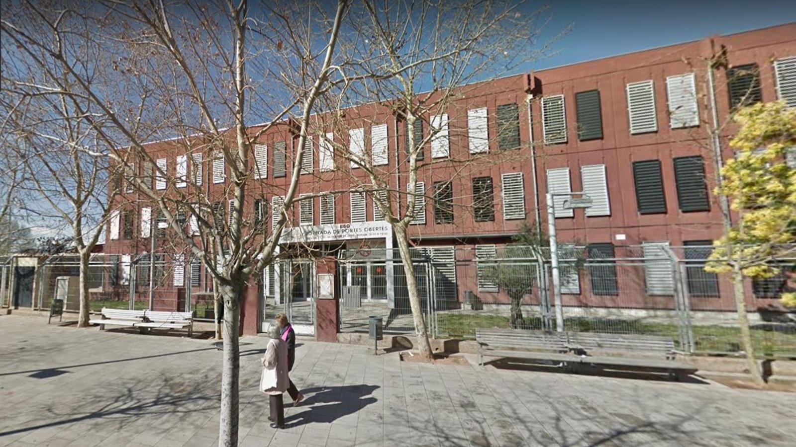 L'institut Terra Roja de Santa Coloma, en una imatge d'arxiu