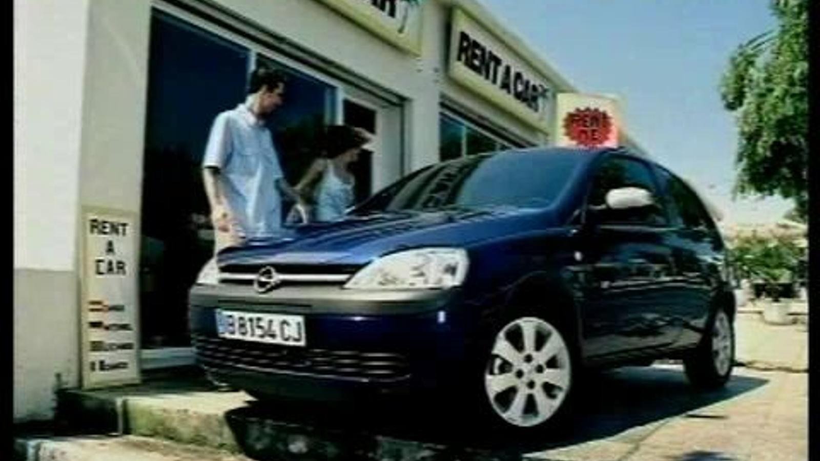 Publicitat d'Opel Corsa rodada a Mallorca: