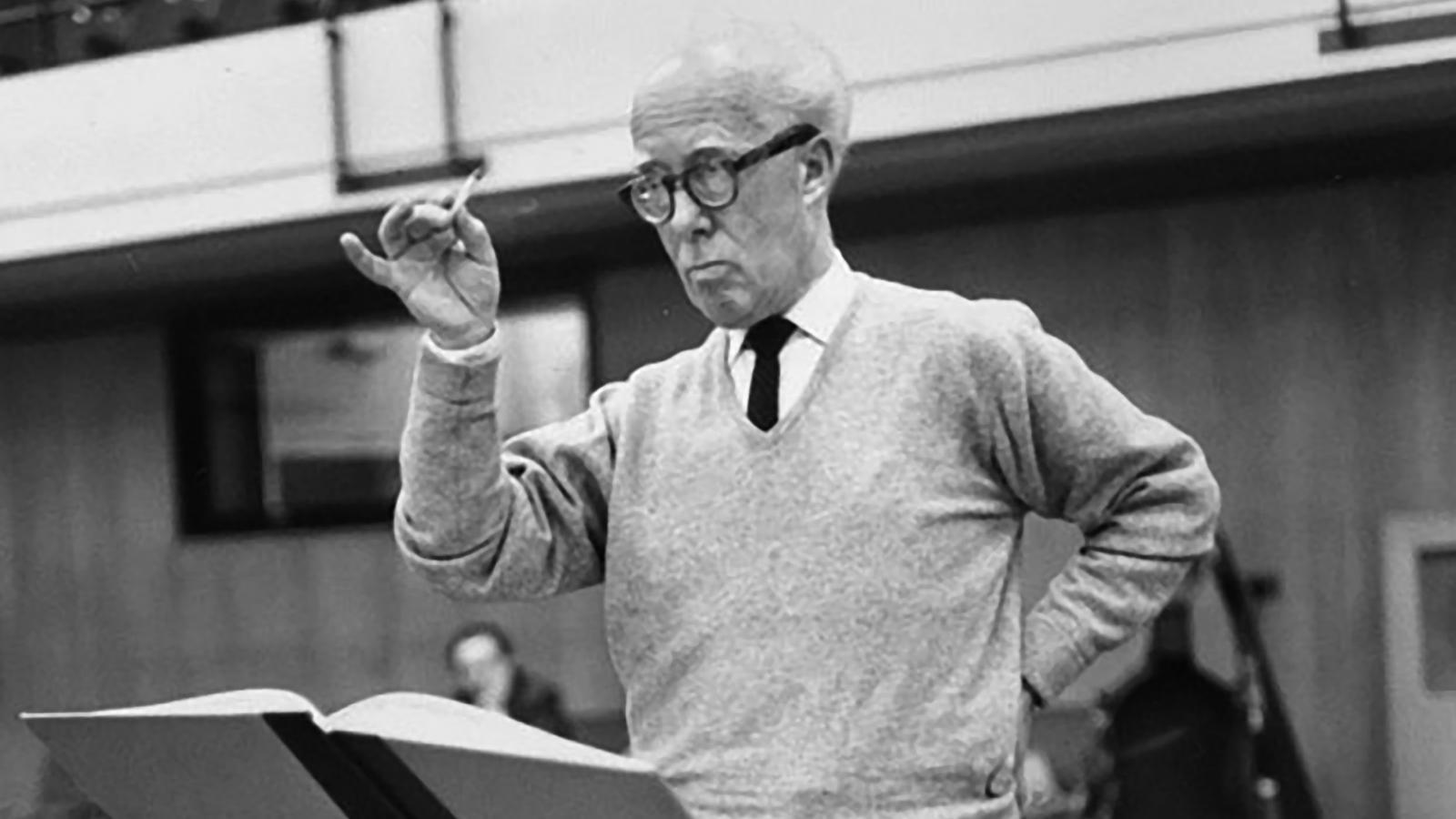 Robert Gerhard, un compositor inconformista i cosmopolita