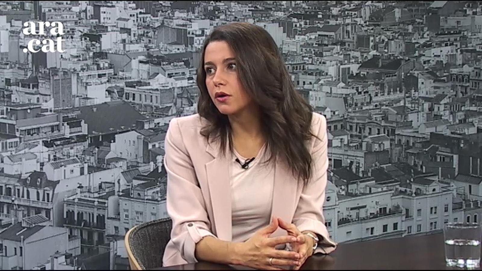 """Inés Arrimadas: """"Hem d'evitar que les discrepàncies polítiques tinguin conseqüències en termes de seguretat"""""""