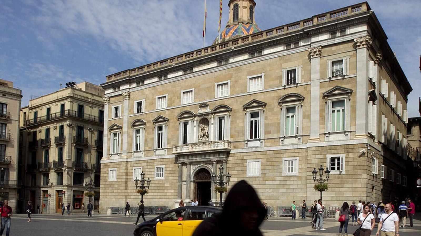 El Palau de la Generalitat, en una imatge d'arxiu.