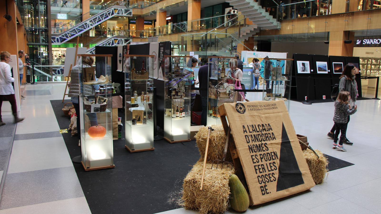 La mostra de productes agrícoles i artesans d'Andorra arriba a la 8a edició