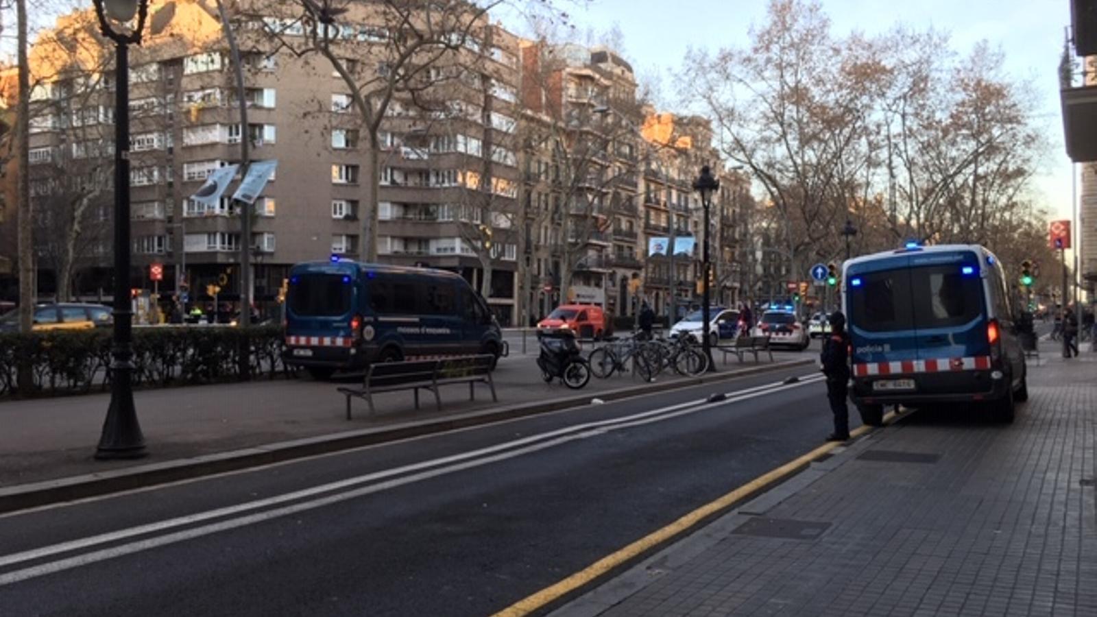 La circulació es va normalitzant després de les protestes dels CDR