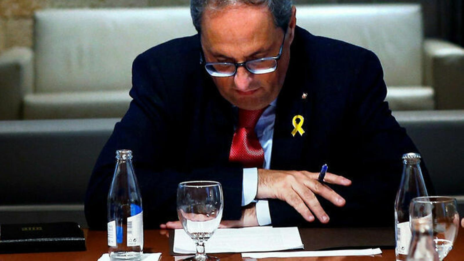 Sánchez torna a rebutjar parlar per telèfon amb Torra