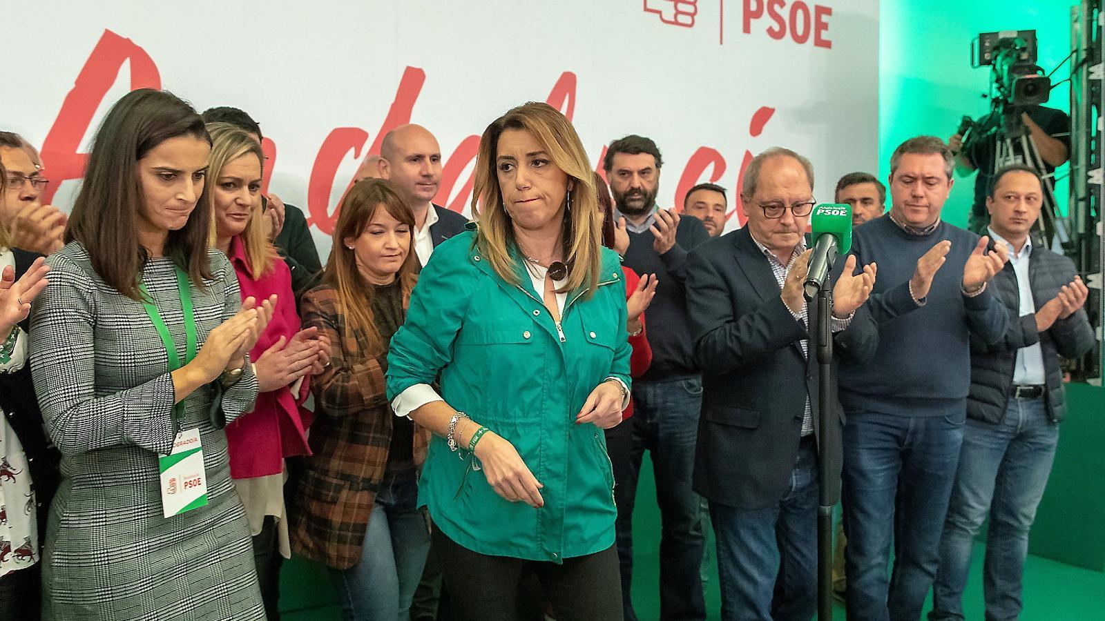 La ultradreta liquida l'hegemonia del PSOE a Andalusia