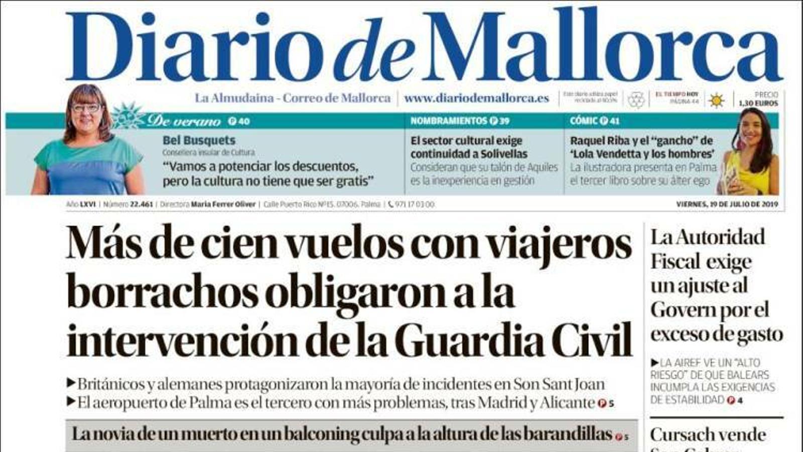 """""""Torra permet espies als patis de les escoles per veure si els nens parlen català"""", a la portada d''El Mundo'"""