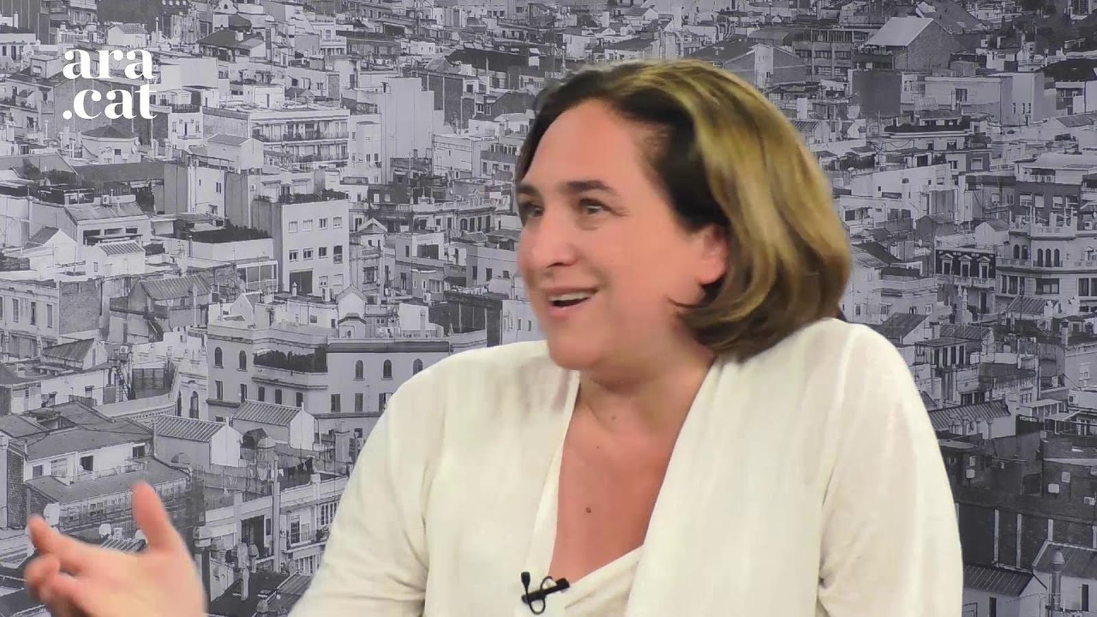 Entrevista d'Esther Vera a Ada Colau