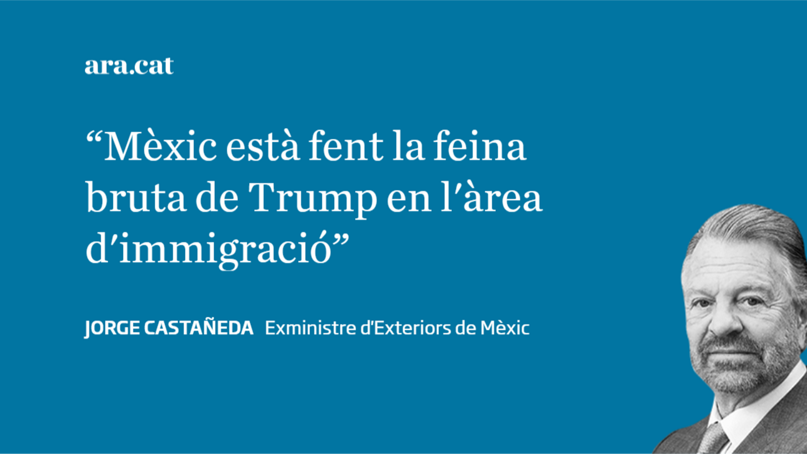 Mèxic necessita un canvi de rumb