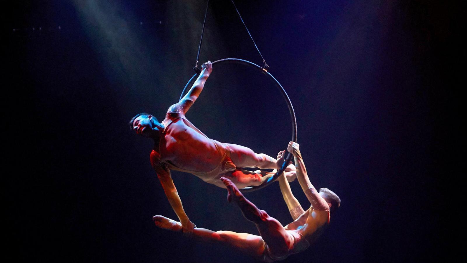 Una escena del muntatge d'Air Otic al Teatre Victòria.