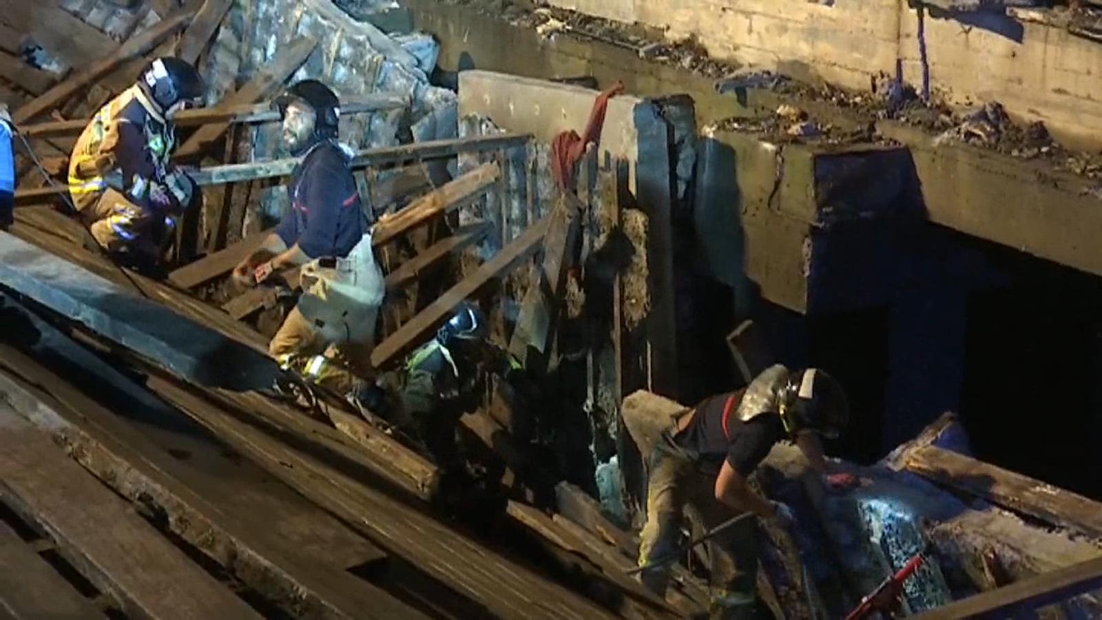 Més de 300 persones ferides en desplomar-se una passarel·la de fusta Vigo