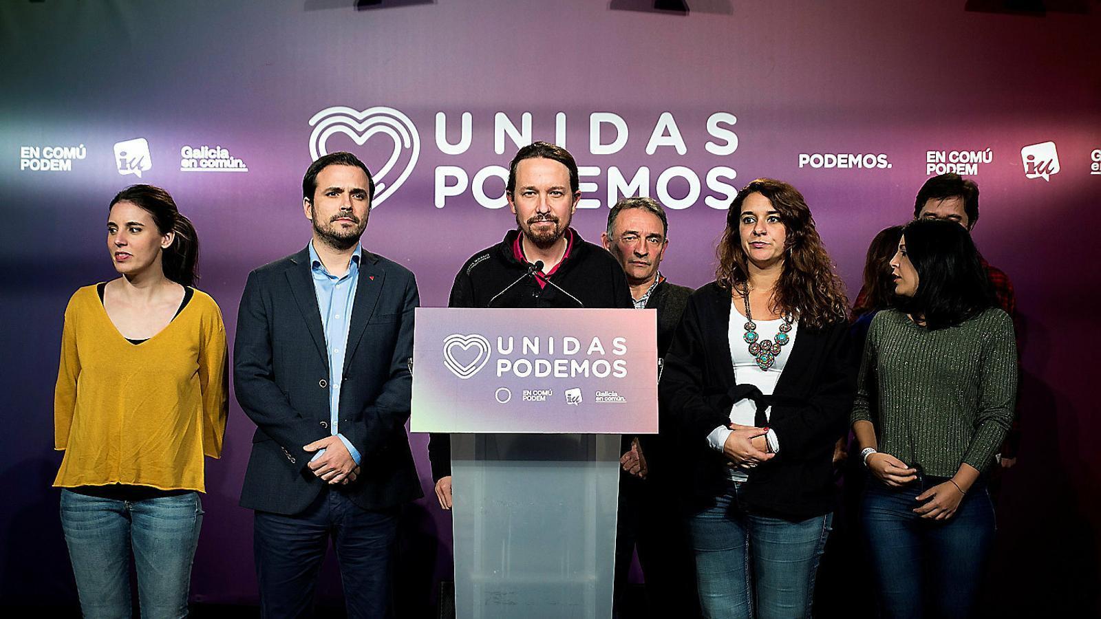 Iglesias manté la fe d'entrar al govern