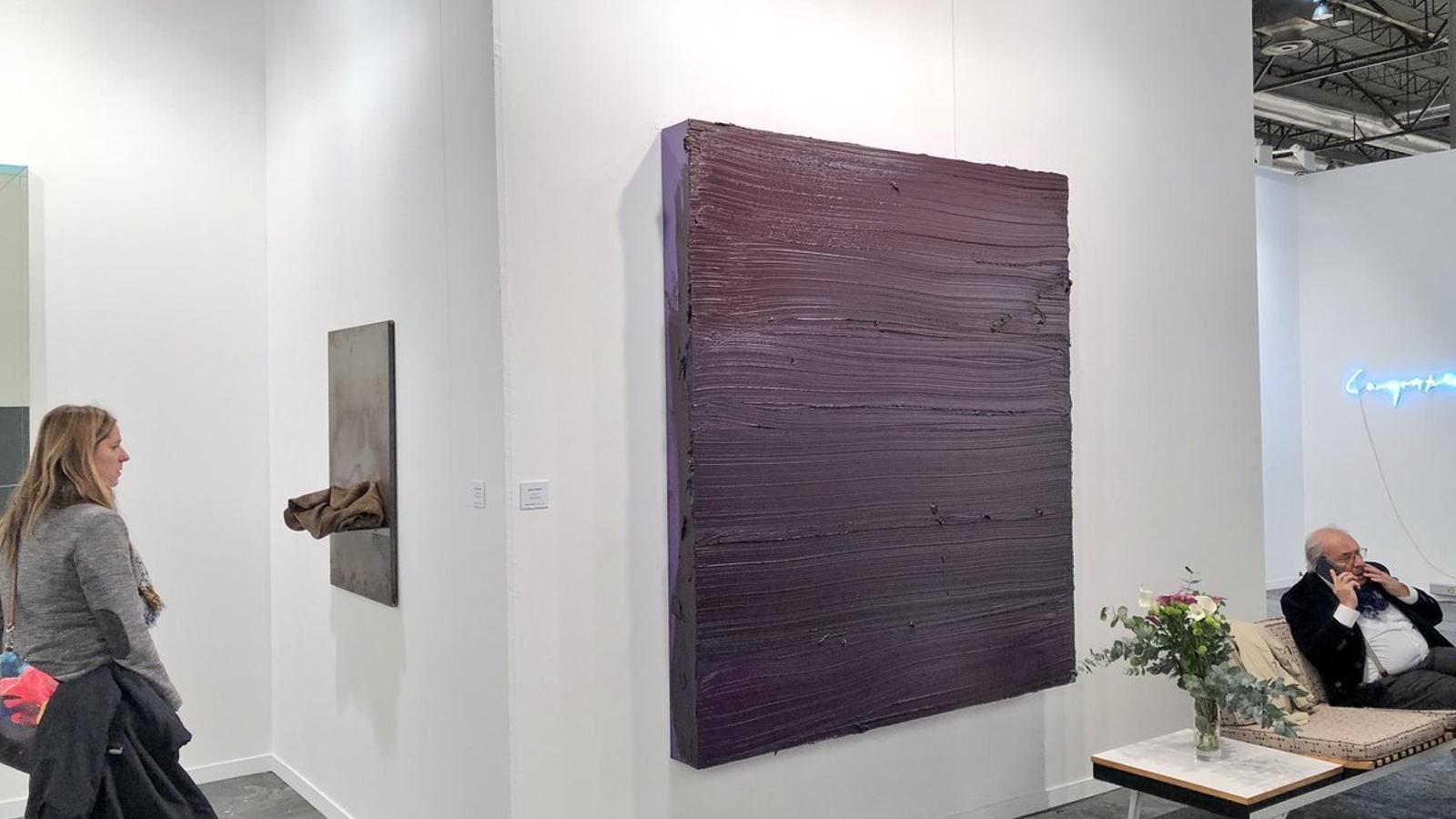 Estand de la galeria Pelaires a ARCO 2018.