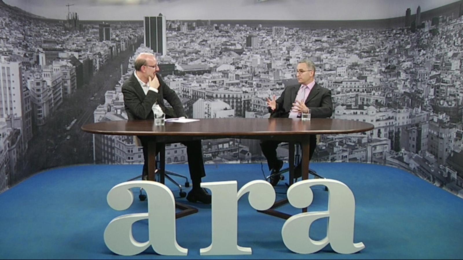 Entrevista d'Antoni Bassas a Pol Antràs