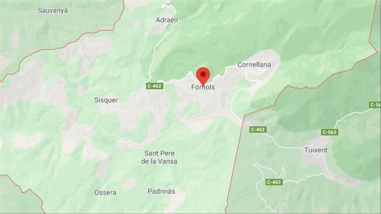 Dos morts en un accident d'helicòpter a l'Alt Urgell