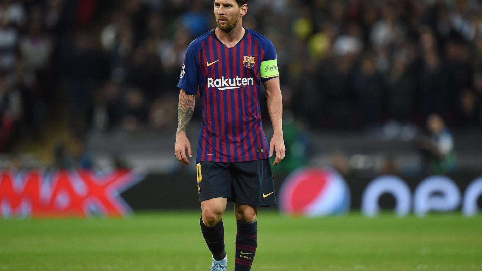 Leo Messi és a la llista, amb Rakitic i Suárez.