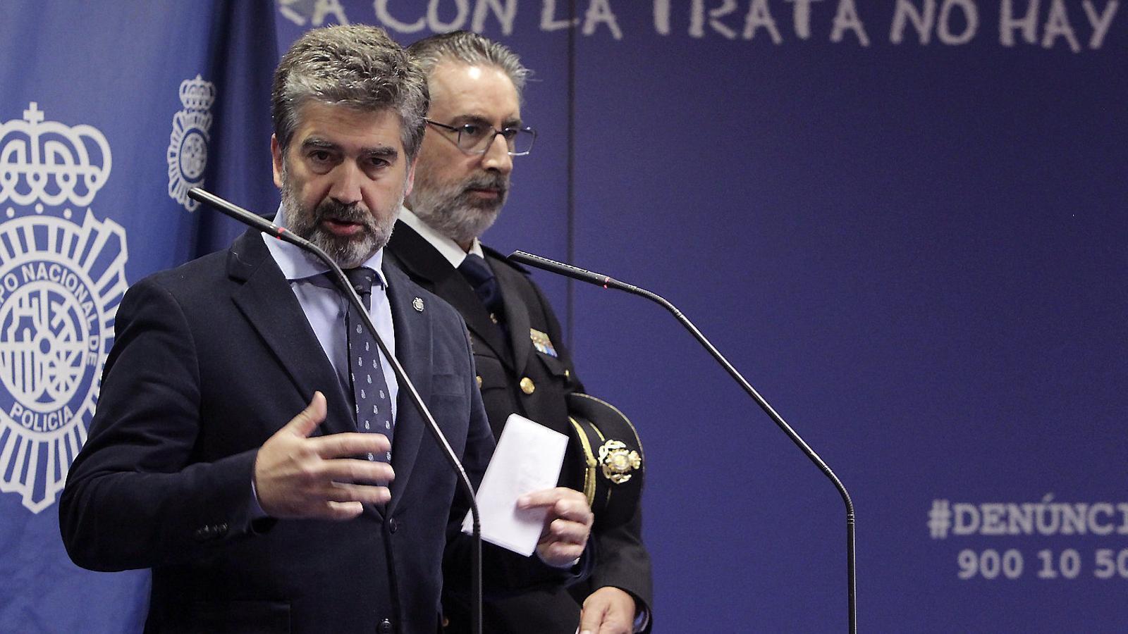 Ignacio Cosidó en una imatge de la seva època policial.