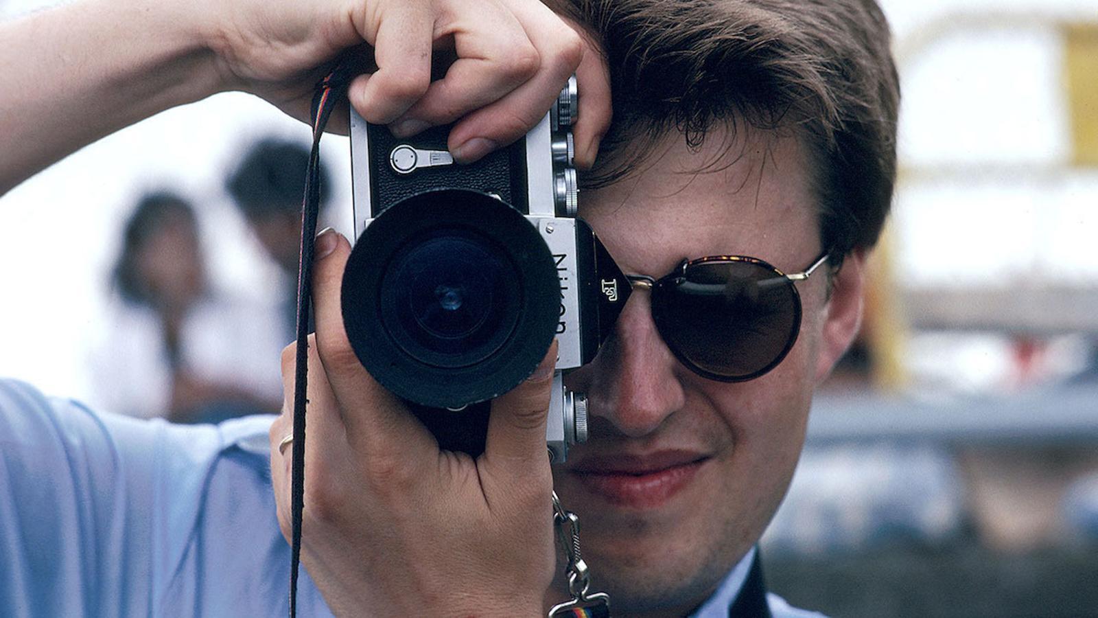 Una imatge del documental sobre Stieg Larsson.