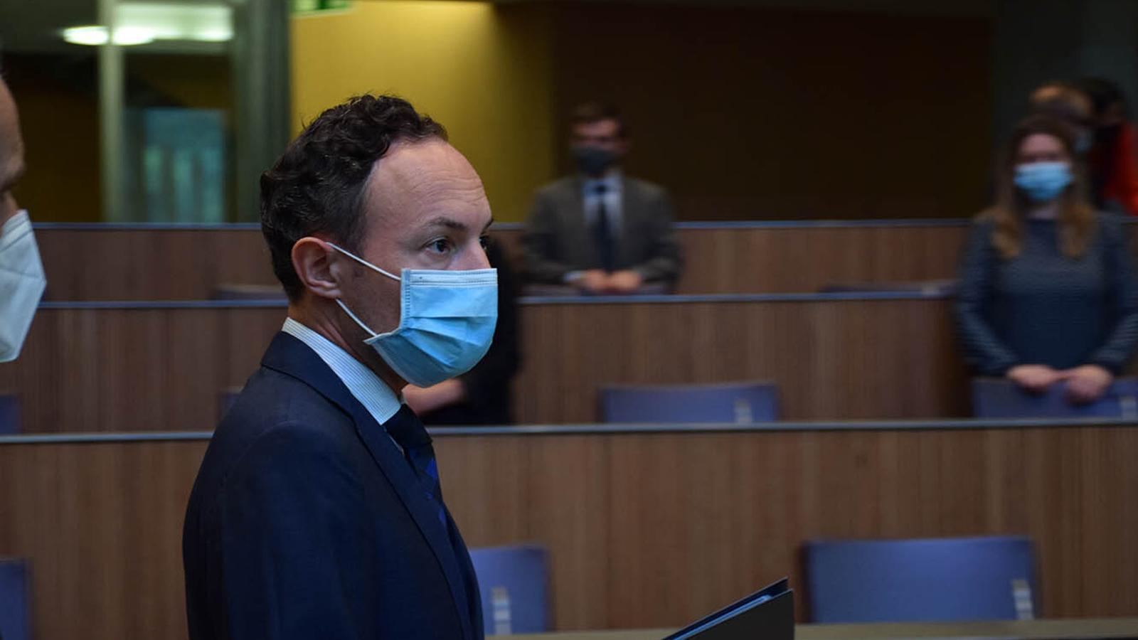 El cap de Govern, Xavier Espot, aquest dimecres al Consell General durant el debat d'orientació política / MF
