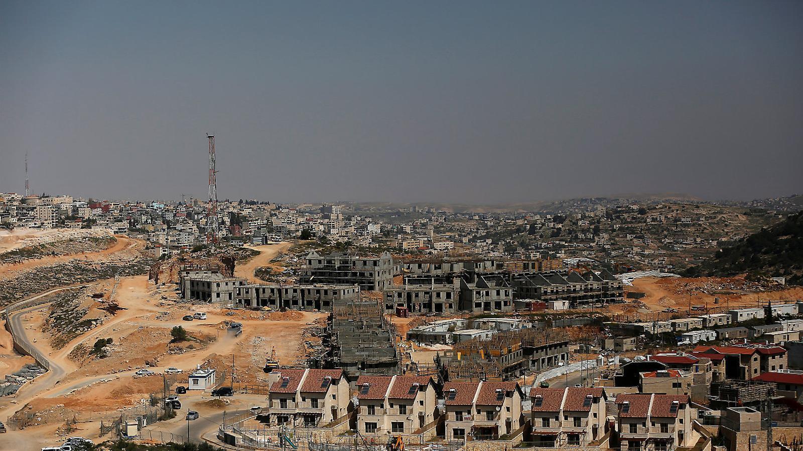 Israel prepara una expansió colonial per ofegar Betlem