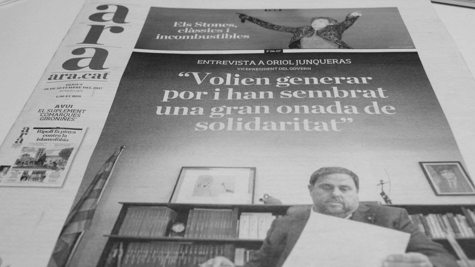 L'anàlisi d'Antoni Bassas: 'Ei, que només volem votar en pau'